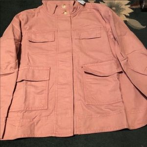 Utility jacket LP New with tag loft nice color